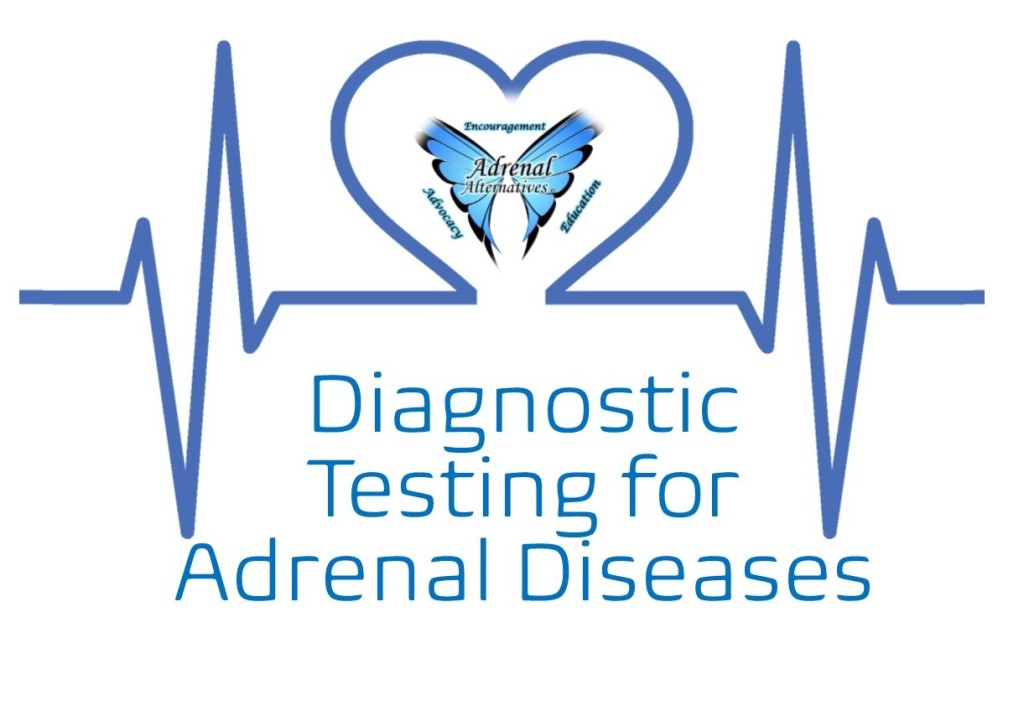 A list of diagnostic tests to measure adrenal function and diagnose adrenal diseases.