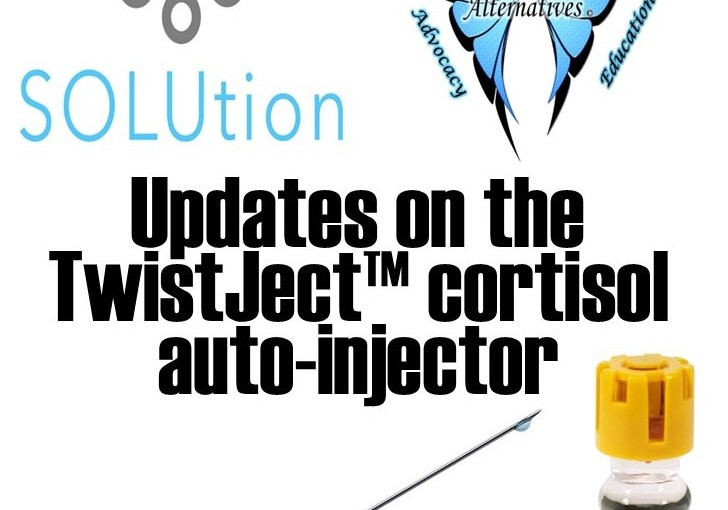 Upcoming Adrenal Technology- Twistject Cortisol Delivery Device Update